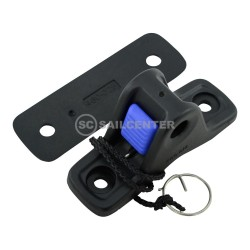 Seasure rudder retaining clip